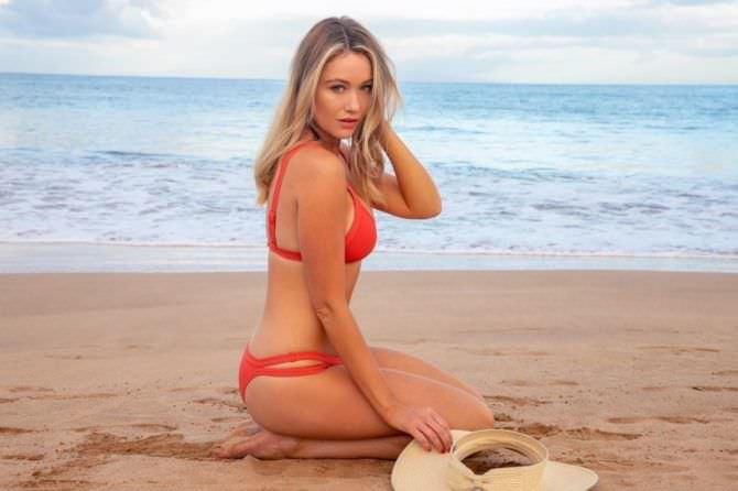 Катрина Боуден фото на пляже