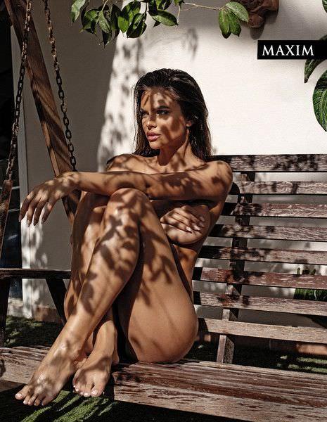 Виктория Одинцова для журнала Maxim