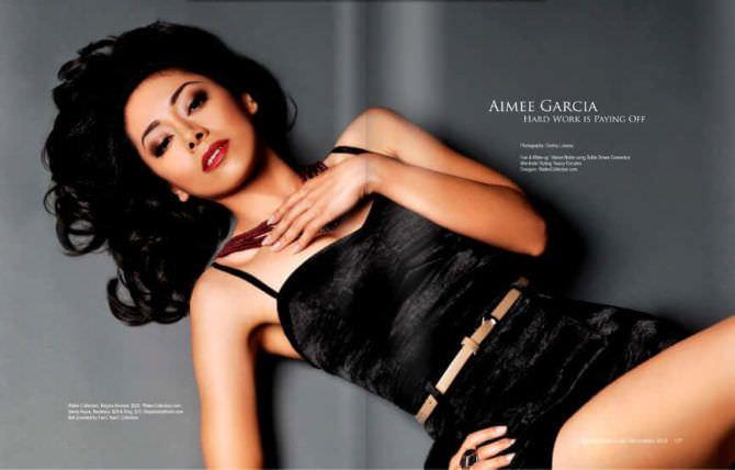 Айми Гарсиа фото в журнале