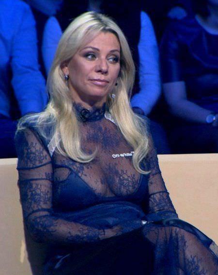 Ирина Салтыкова фото на съемках передачи