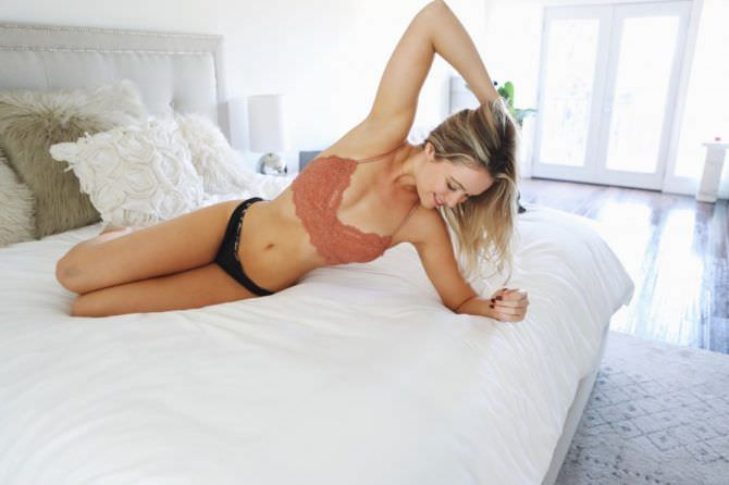 Катрина Боуден фото в кровати