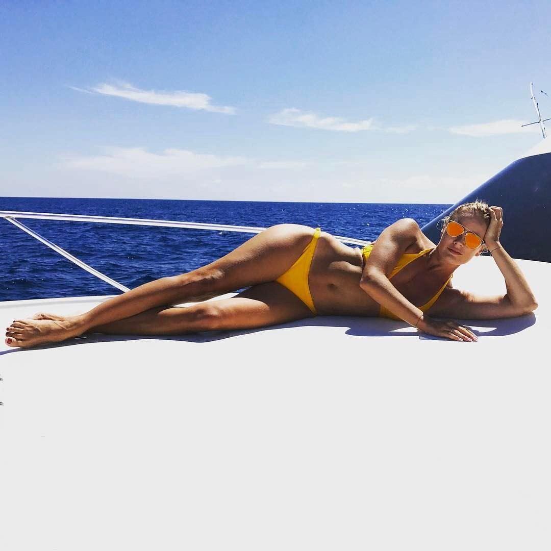Елена Летучая фото на яхте