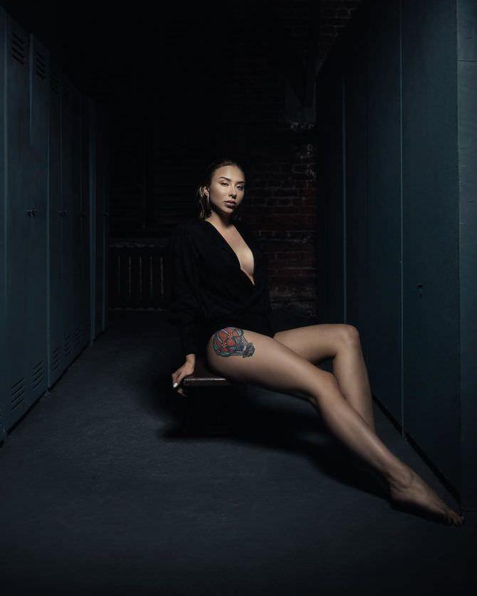 Мария Соколова фото в черном боди