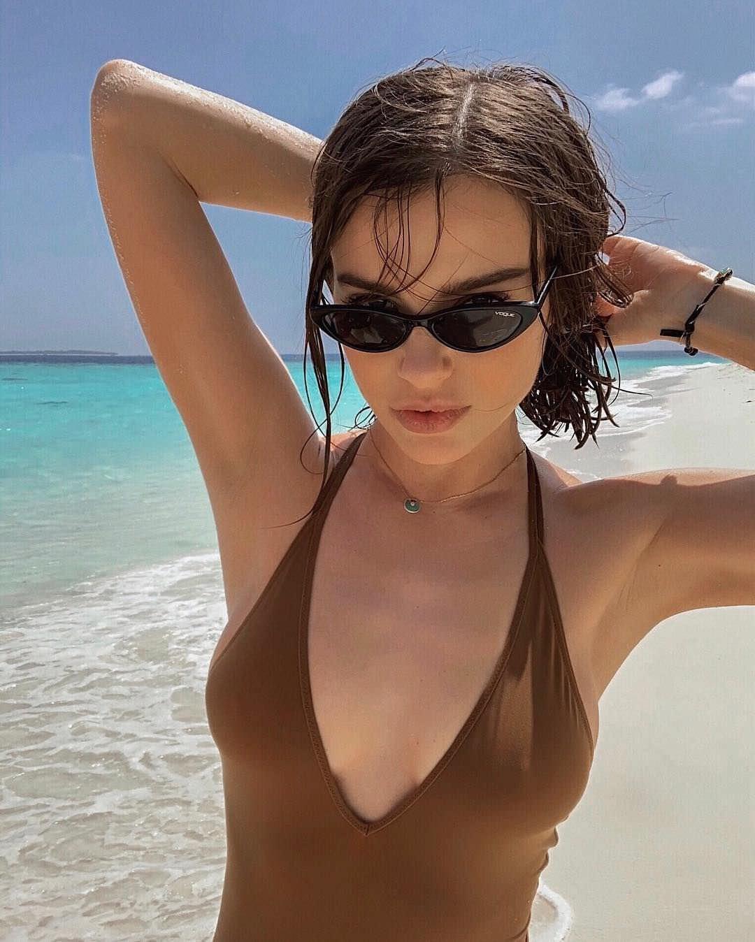 Елена Темникова фото на отдыхе
