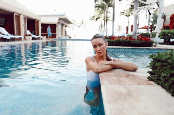 Катрина Боуден фото на отдыхе