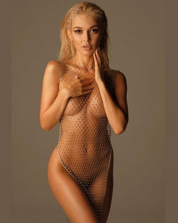 Эрика Герцег фото без одежды