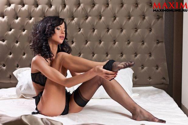 Мирослава Карпович фото для журнала Maxim