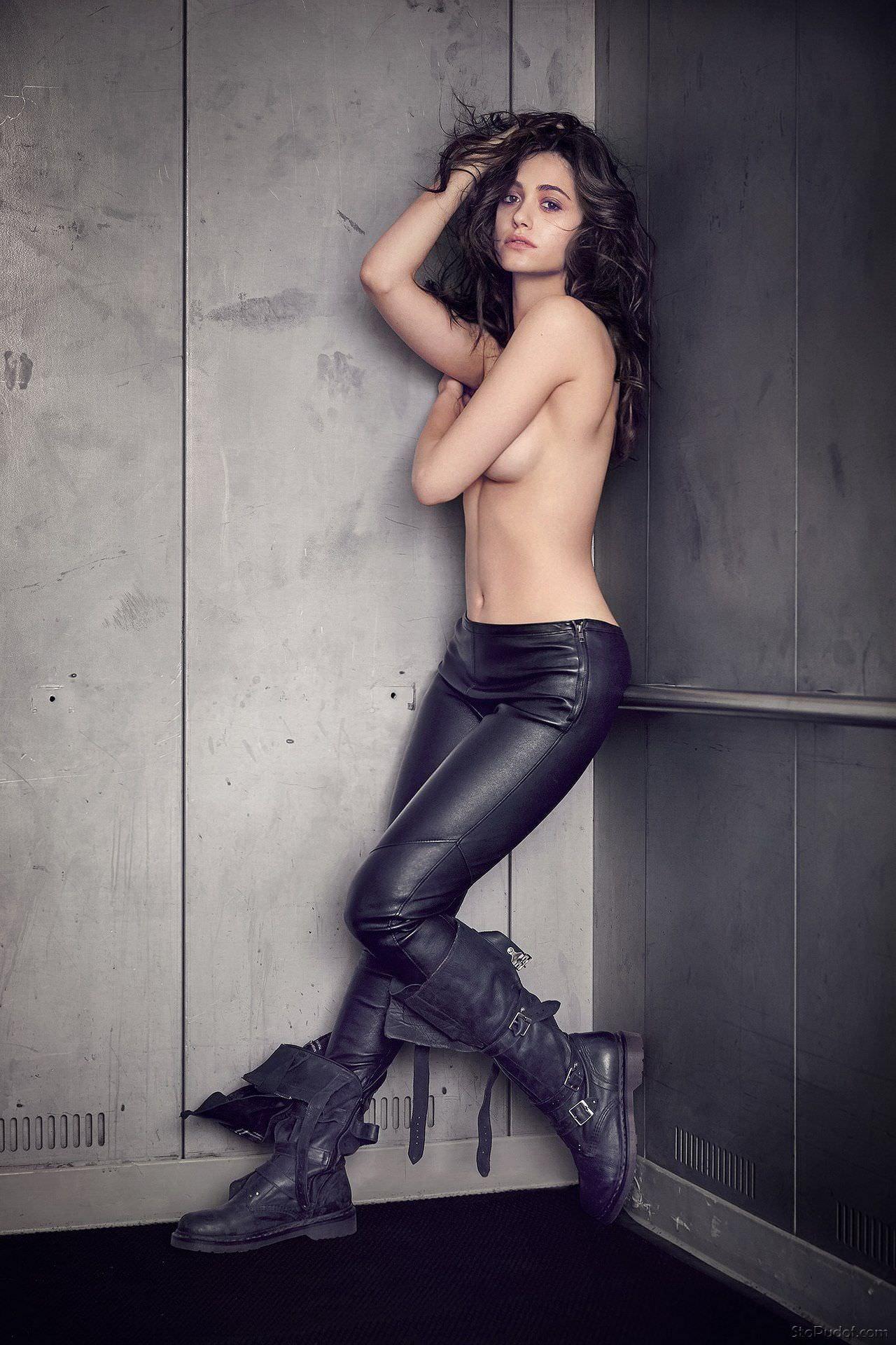 Эмми Россум фото в штанах