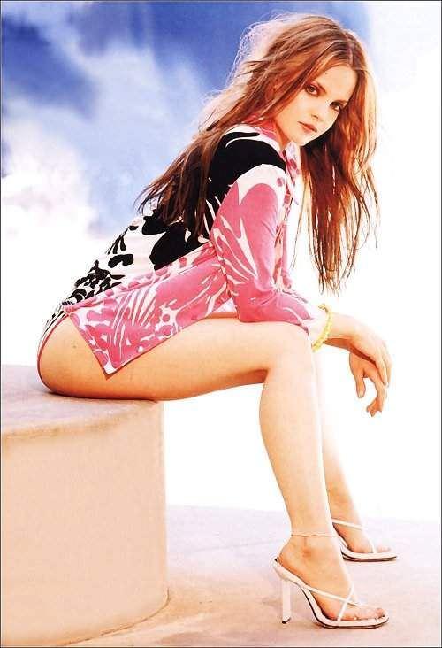 Мина Сувари фото для журнала