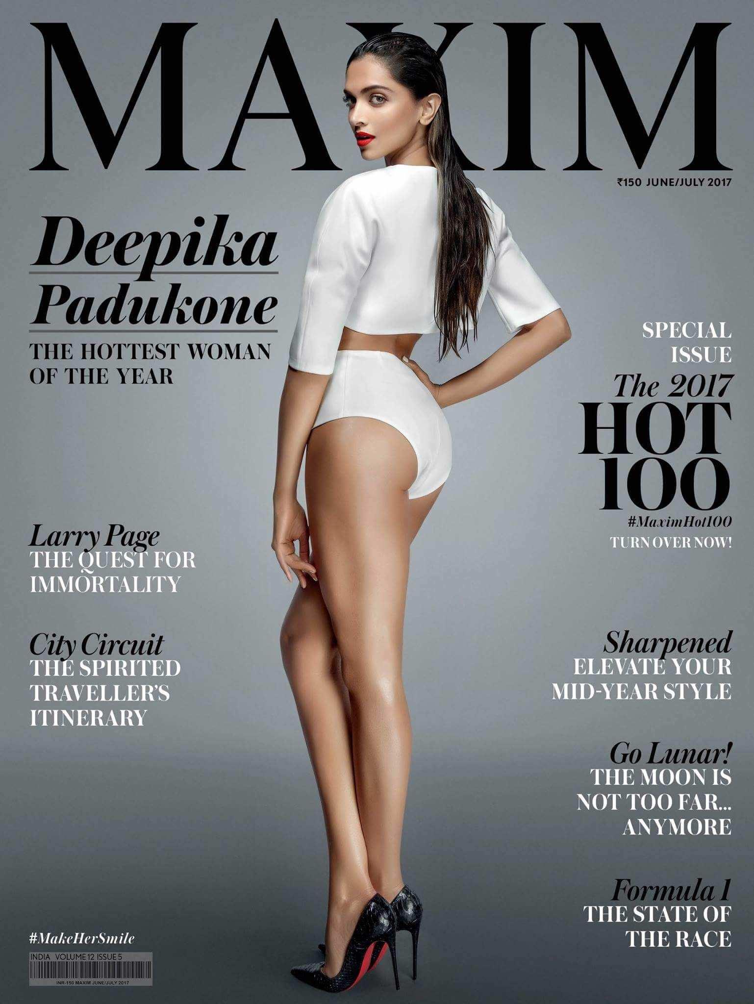 Дипика Падуконе фото на обложке журнала Maxim