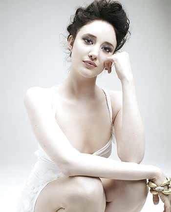 Андреа Райсборо на фотосессии
