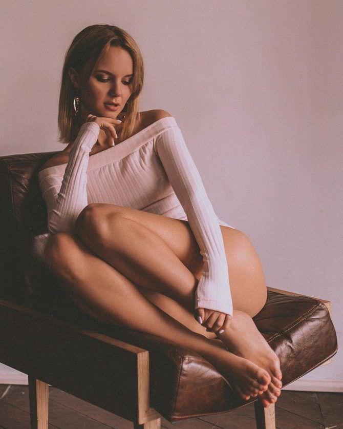 Татьяна Мингалимова фото на кресле