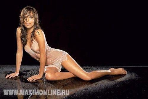 Ева Лонгория фото с мокрыми волосами