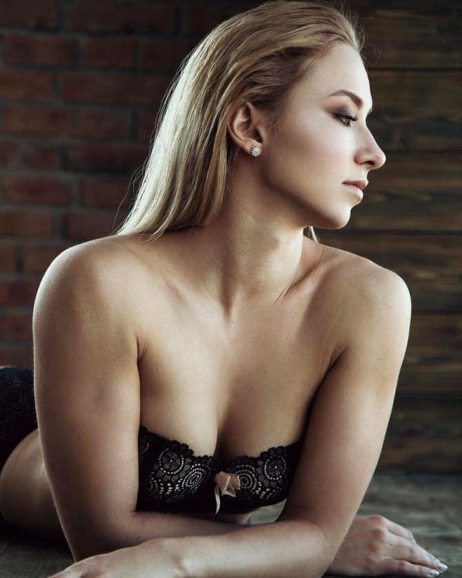 Мария Соколова на фотосессии