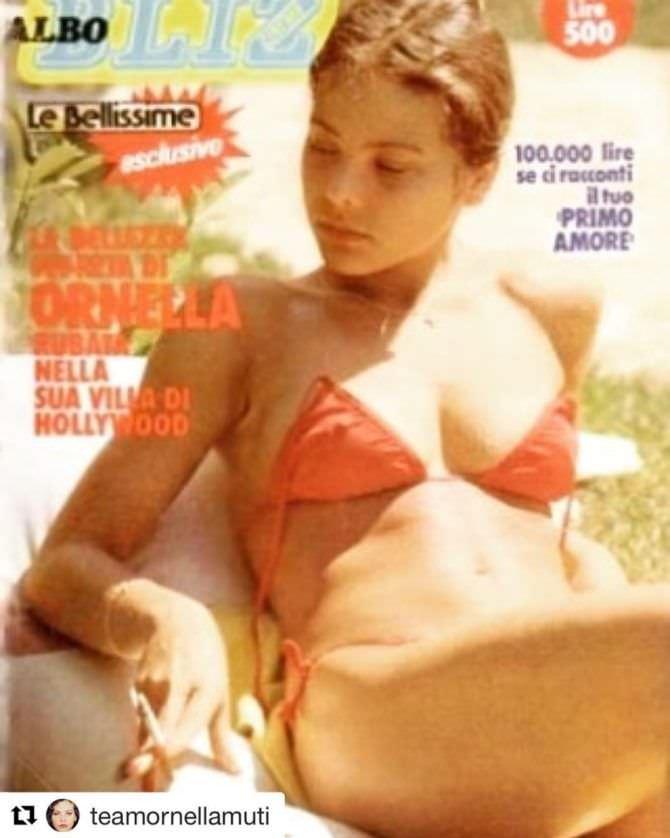 Орнелла Мути фото из журнала в инстаграм