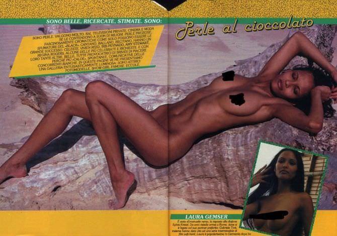 Лаура Гемсер фотосессия из журнала