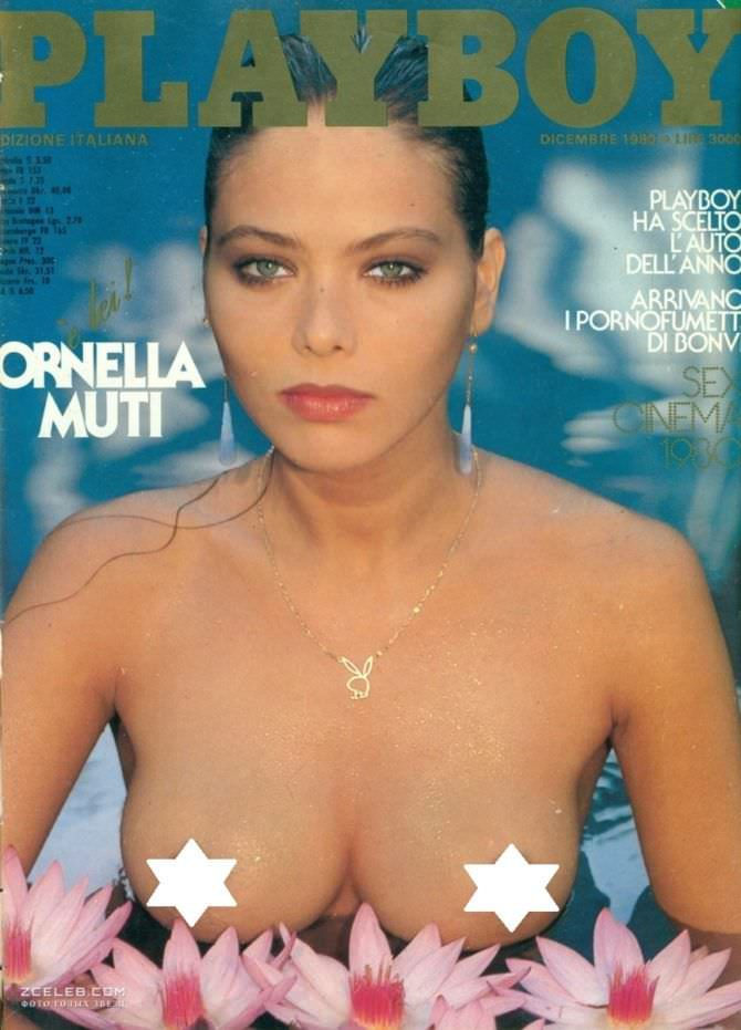 Орнелла Мути фото обложки плейбой 1980