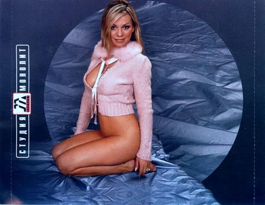 Ирина Салтыкова фото на постели