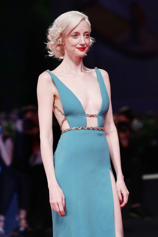 Андреа Райсборо фото в платье