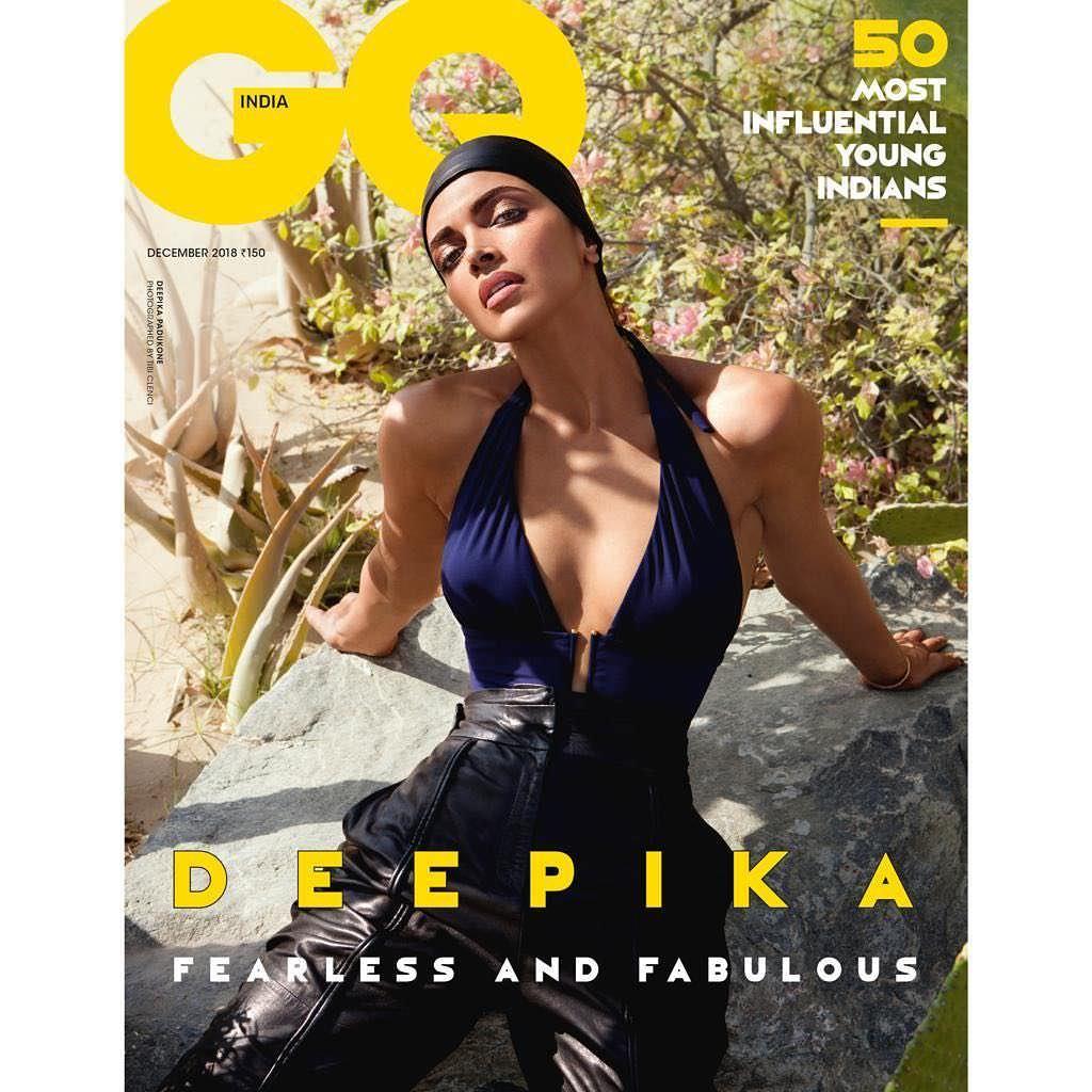 Дипика Падуконе на обложке журнала GQ