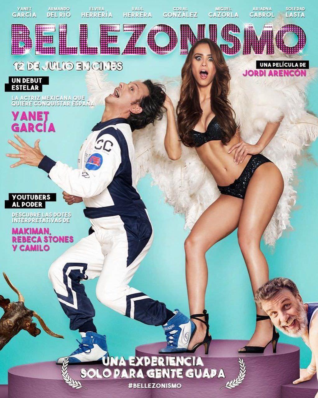 Янет Гарсия фото на обложке журнала Bellezonismo