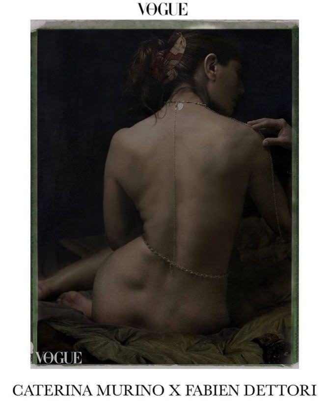 Катерина Мурино фото из журнала в инстаграм