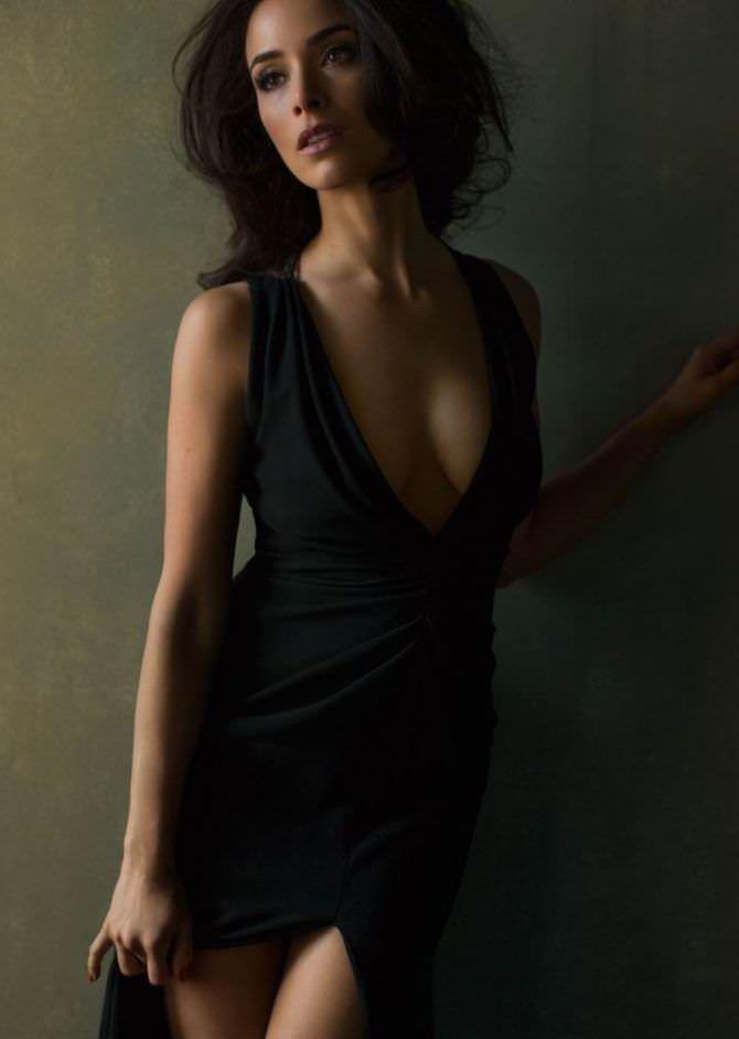Эбигейл Спенсер фотография в вечернем платье