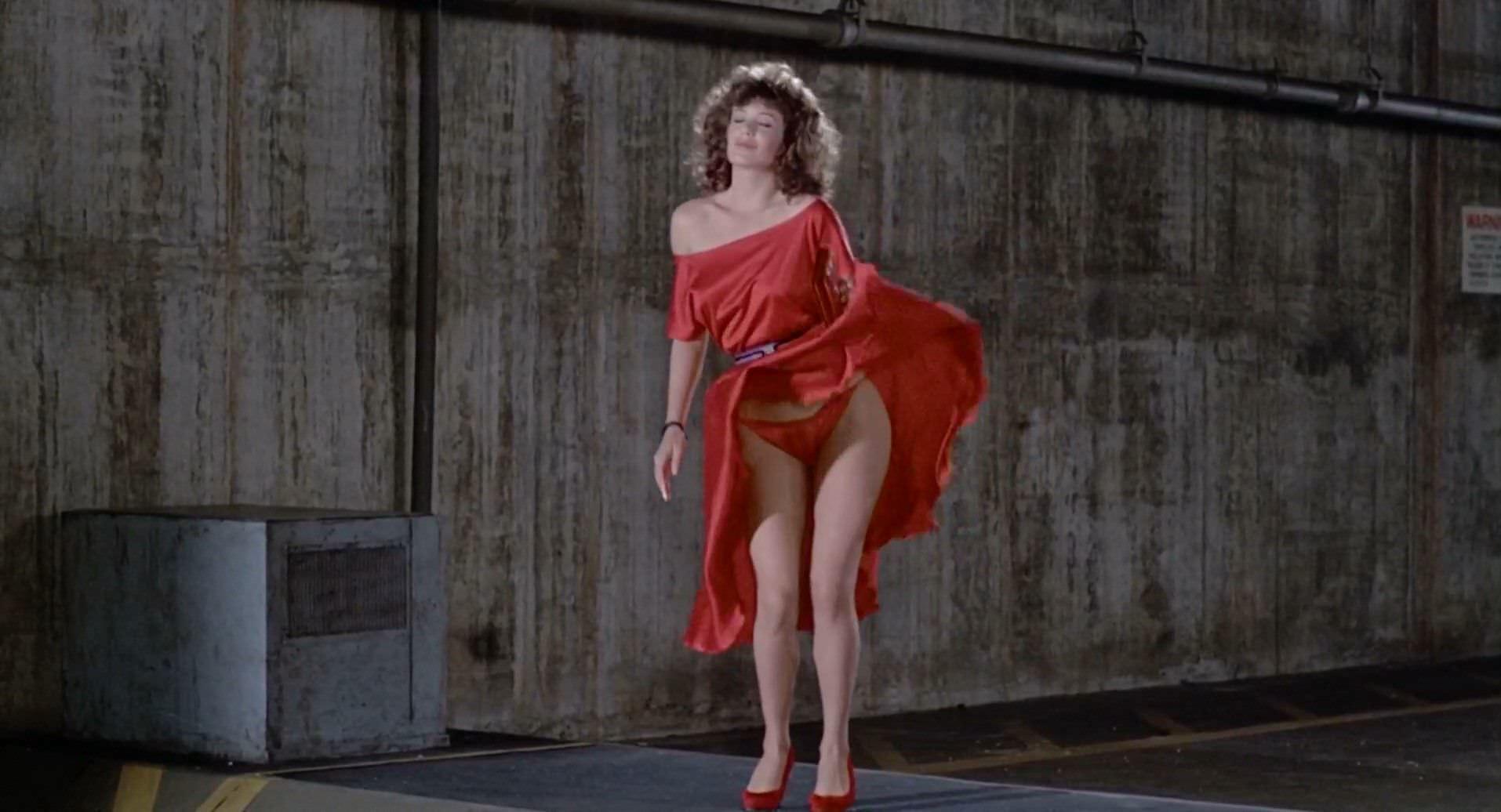 Келли Леброк фото в красном белье
