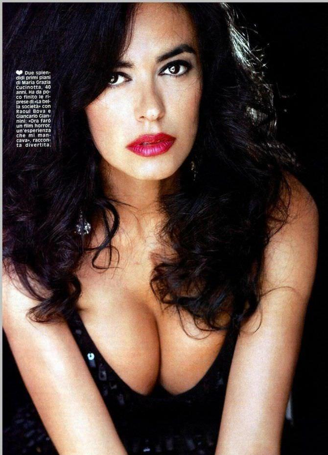 Мария Грация Кучинотта откровенное фото из журнала