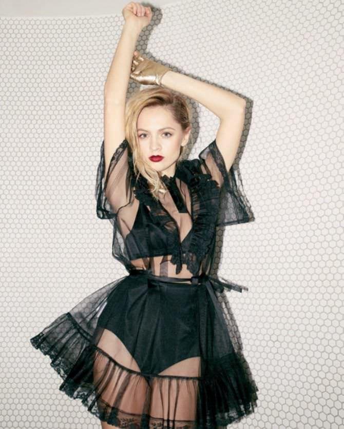 Янина Студилина фото в прозрачном платье