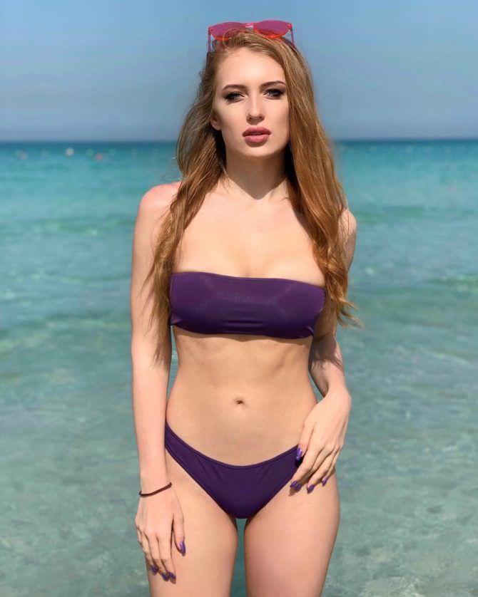 Полина Дубкова фото на отдыхе