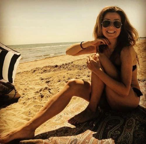 Жанна Бадоева фото на море
