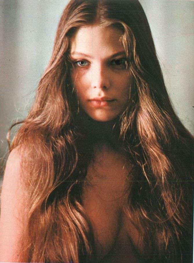Орнелла Мути фото с распущенными волосами