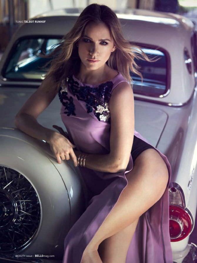 Шантель Вансантен фотосессия в красивом платье
