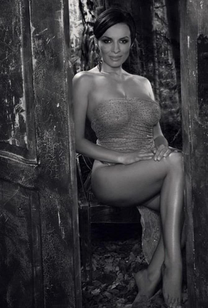 Надежда Грановская фотография в прозрачном платье