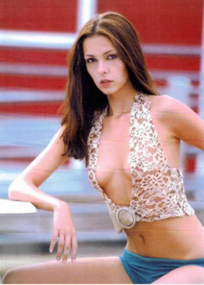 Ольга Фонда фото в оригинальном купальнике