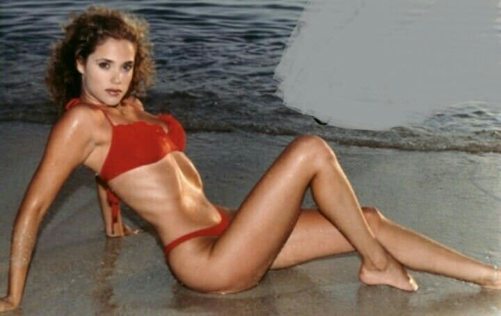 Elizabeth berkley showgirls high resolution stock photography and images