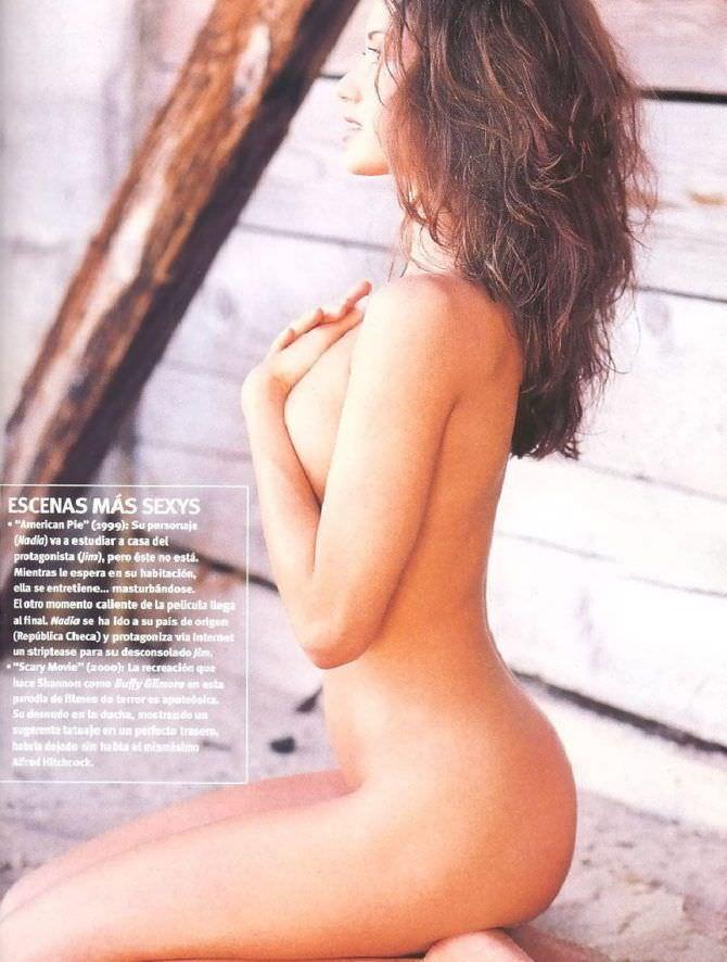 Шеннон Элизабет фотография без одежды для журнала