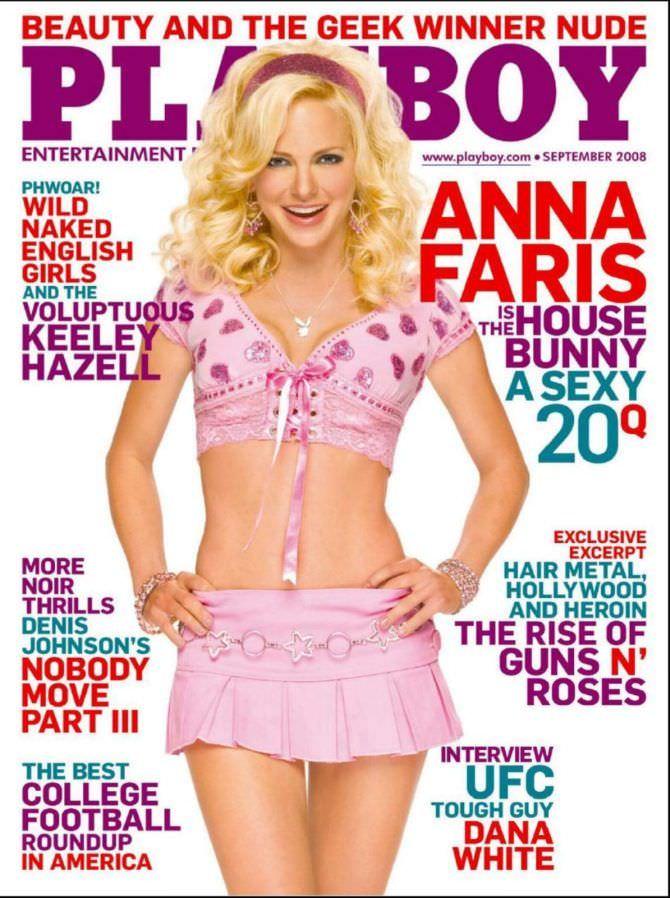 Анна Фэрис фотография обложки журнала 2008