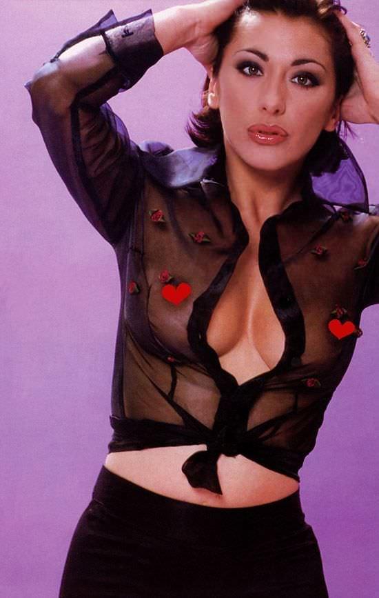 Сабрина Салерно фото в рубашке
