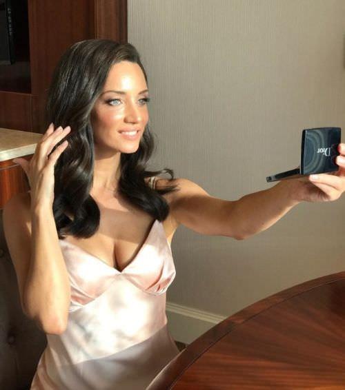 Татьяна Денисова фото в пижаме