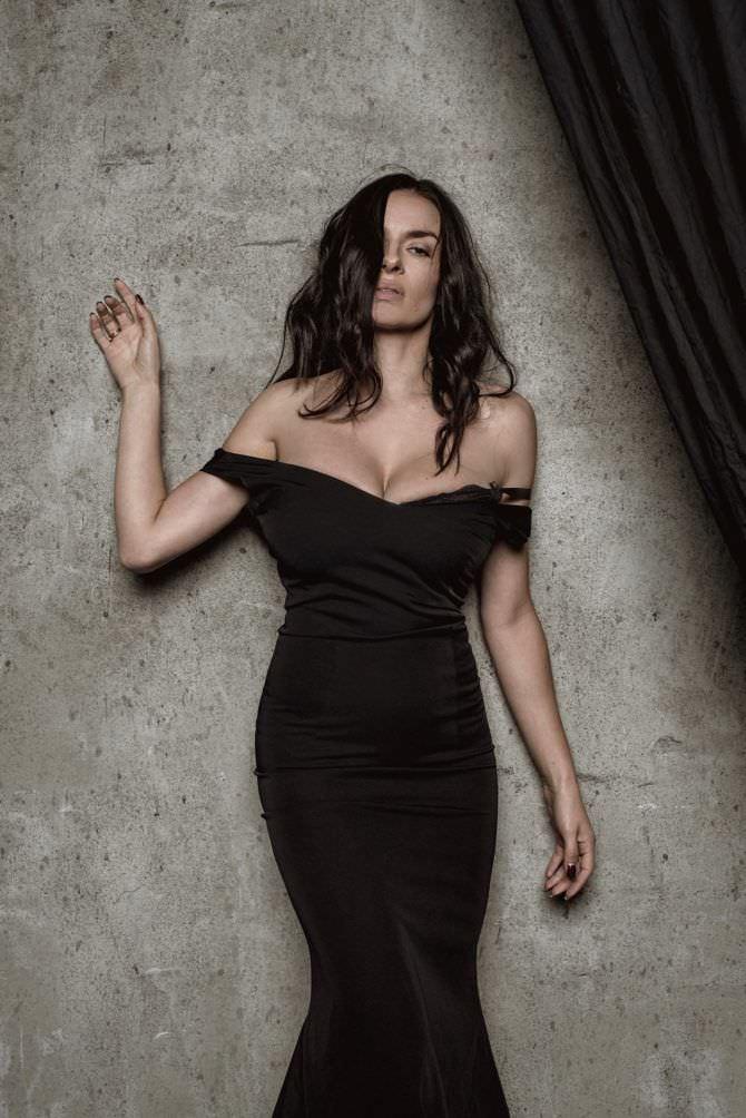 Надежда Грановская фото в длинном платье