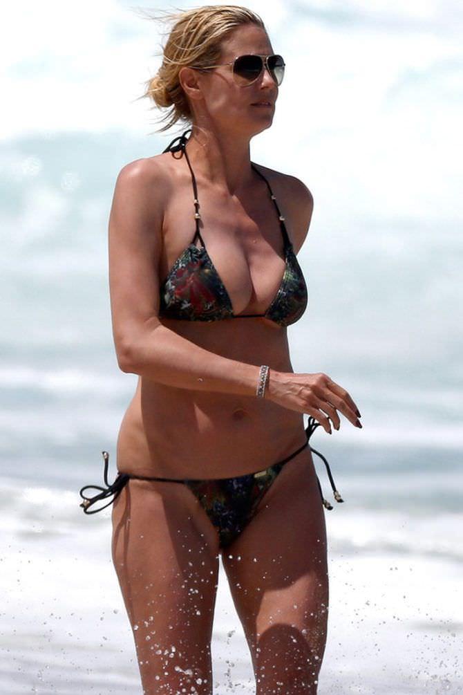 Хайди Клум свежее фото на пляже