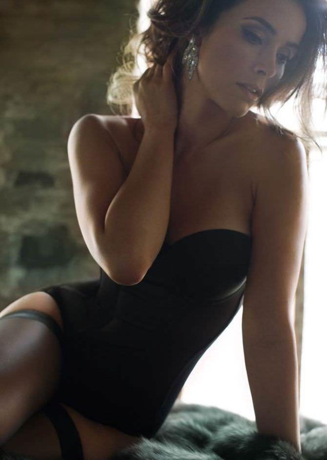 Эбигейл Спенсер красивое фото в белье