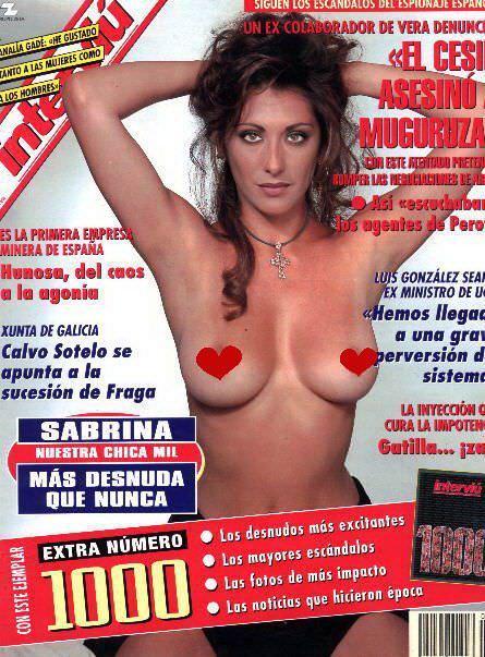 Сабрина Салерно фото без белья