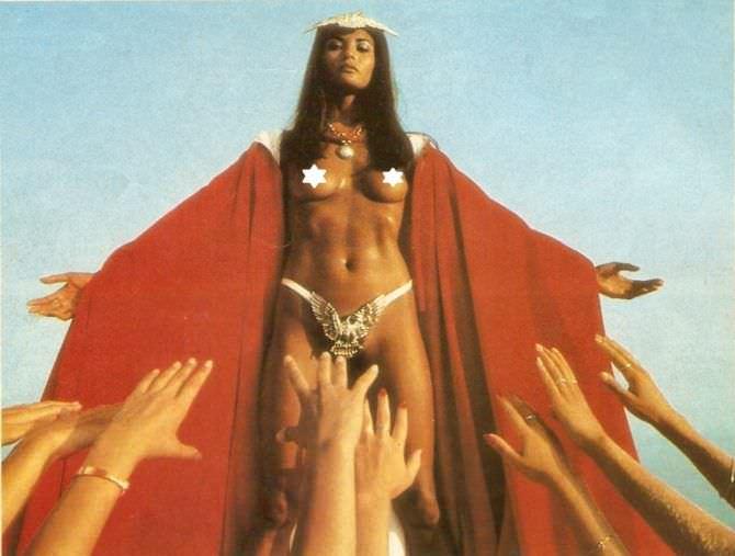 Лаура Гемсер фото из фильма в короне