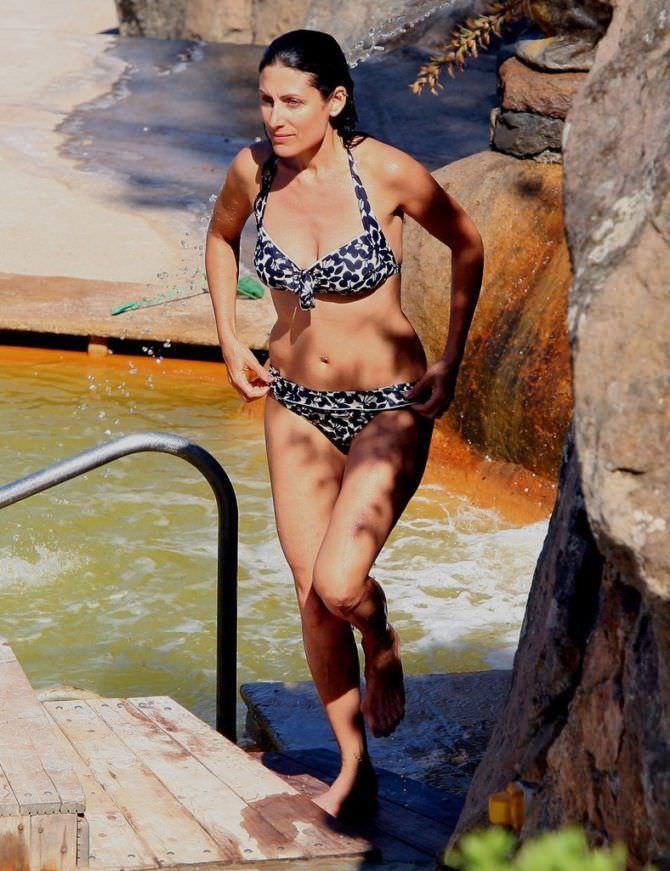 Лиза Эдельштейн фотография в купальнике на отдыхе