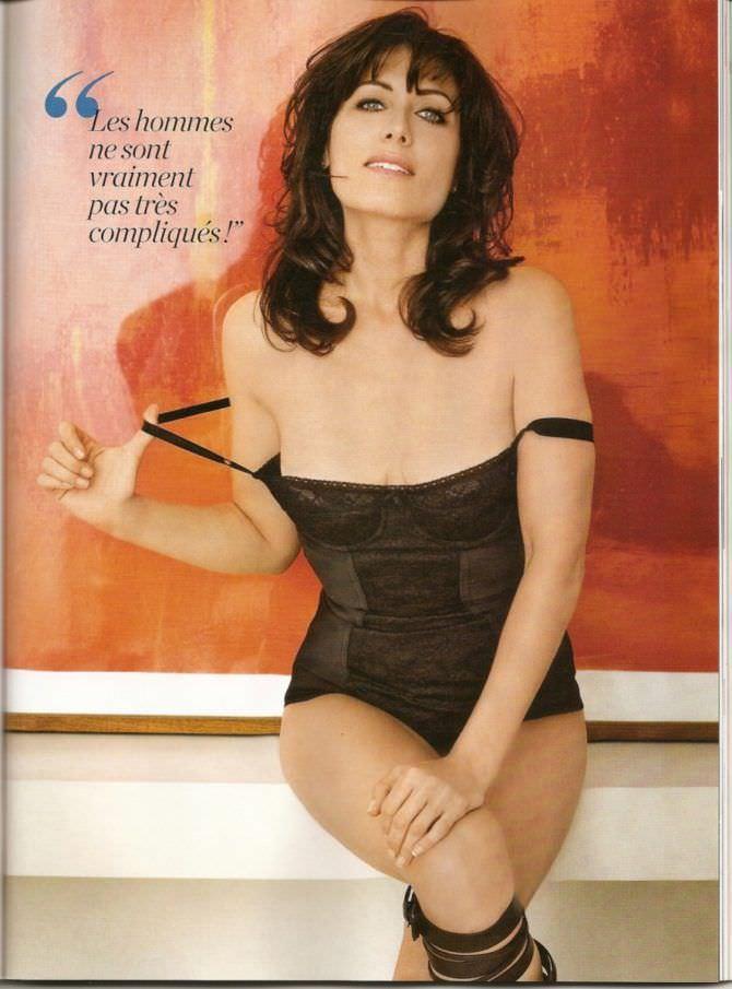 Лиза Эдельштейн фото в нижнем белье в журнале