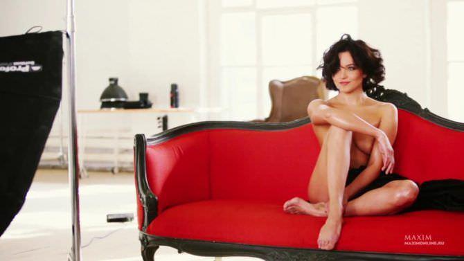 Наталья Земцова снимок с фотосессии для журнала