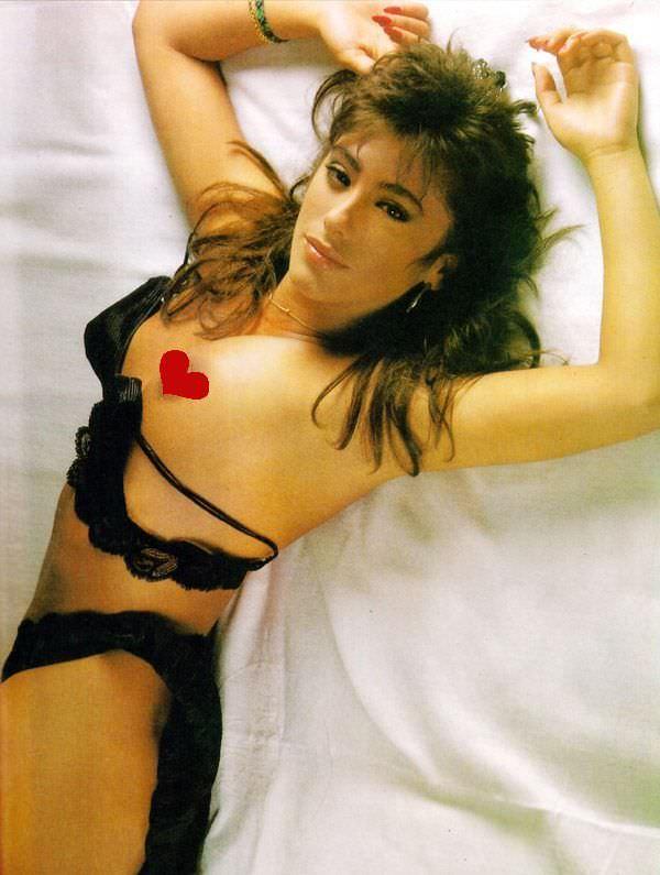 Сабрина Салерно фото в черном белье